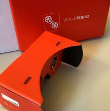 Die Mainz-App hat ein neues Virtual Reality-Modul