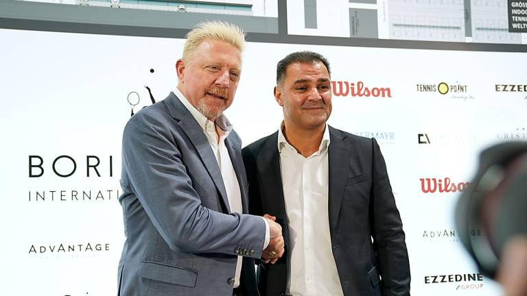 Boris Becker stellt International Tennis Academy vor